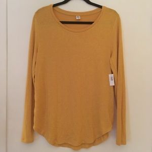 Old Navy Soft Wide Neck Sweater Tee